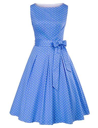 GRACE KARIN Vestido Vintage Retro Elegante para Mujeres Pin up...
