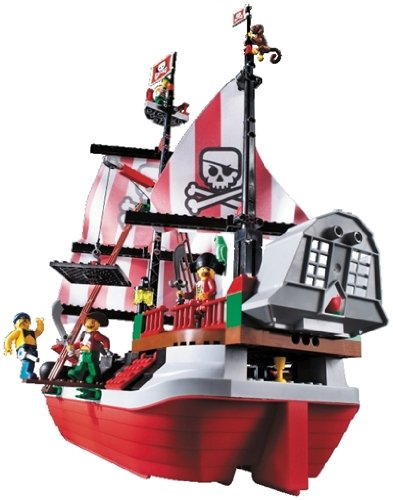 LEGO - bateau pirate barbe rousse d'occasion  Livré partout en Belgique