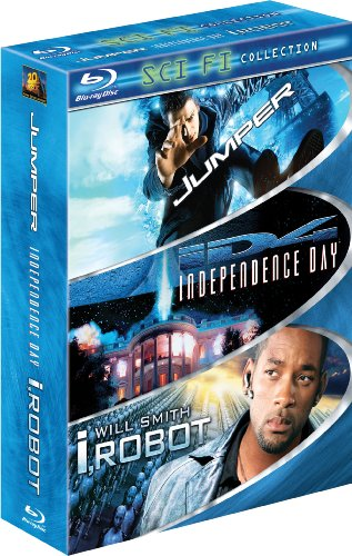 Sci-Fi Three-Pack (Jumper / Independence Day / I, Robot) [Blu-ray]