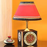 Exclusivelane Handcrafted Table Lamp Wit...