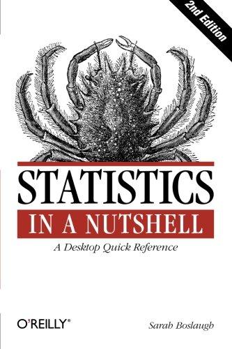 Statistics in a Nutshell (In a Nutshell (O'Reilly))