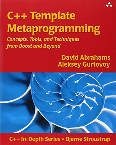 C++ Template Metaprogramming: Concepts, Tools, and Techniques from Boost and Beyond (C++ in Depth) por David Abrahams, Aleksey Gurtovoy