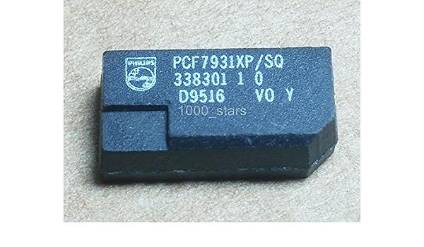1 X Transponder Id33 Id73 Pcf7931 X P Sq Chip Key Schlüssel Cle Pcf7931 X P Pcf7931 Küche Haushalt