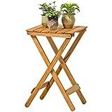 Massivholz Klapptisch Rack Outdoor Couchtisch Blumenständer Frei Installation