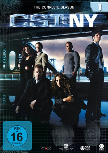 CSI: NY - Season 1 [6 DVDs]
