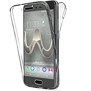 coque wiko ufeel prime gel 360 degres protection integral anti choc etui ultra mince. Black Bedroom Furniture Sets. Home Design Ideas