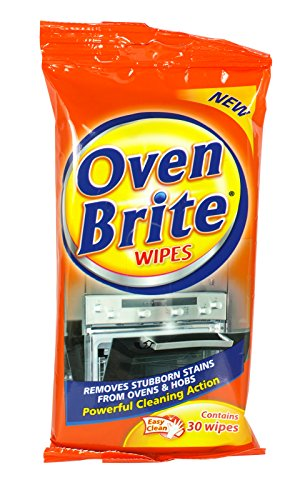 3 x Oven Brite Cleaning Wipes 30 Pack