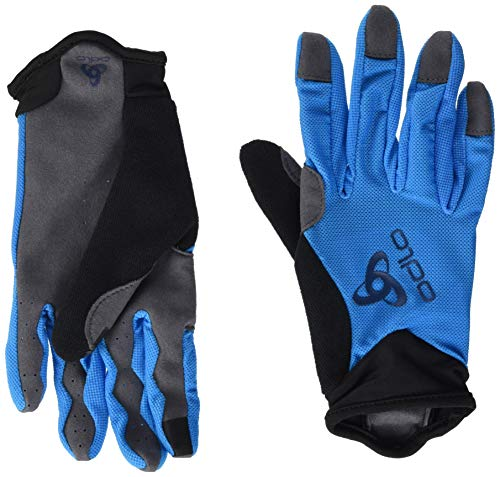 Odlo Unisex - Guantes Offroad Light Blue Jewel XXS