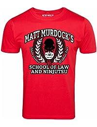 DARE DEVIL MATT MURDOCK'S SCHOOL OF LAW & NINJUTSU T-SHIRT