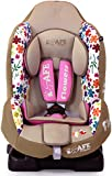 NEW iSafe iSOFIX Comfy Padded CARSEAT GROUP 1 - 9months - 4 years - Flowers