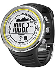 Sunroad FR802A 5ATM Waterproof Altimeter Compass Stopwatch Fishing Barometer Pedometer Outdoor Sports Watch Multifunction by Sunroad