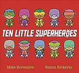 Best Little Simon Book Toddlers - Ten Little Superheroes Review