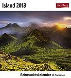 Island - Kalender 2018: Sehnsuchtskalender, 53 Postkarten -
