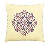 Purple Ornaments Printed Decorative Pillows Cover Cushion Case VPLC_03
