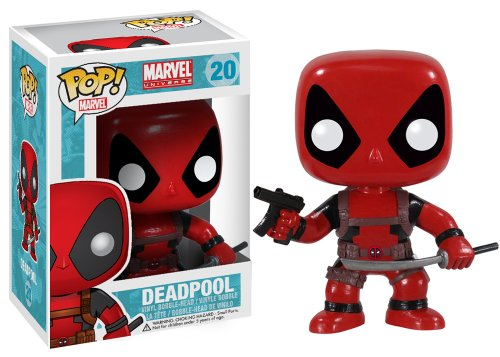 Funko - Figurina Marvel - DeadPool Pop 10cm - 0830395030524