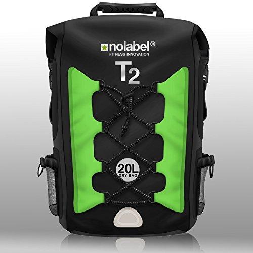 black-green-waterproof-rucksack-sports-bike-backpack-t2-transition-bag-20-litre-shoulder-bag-is-100-