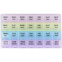 Demiawaking Tragbare 7 Tage Medizin Pille Box Medizin Halter Aufbewahrungsbox Tablettenboxen Pillenbox Container preisvergleich bei billige-tabletten.eu