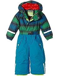 Killtec Ski Overall mit Kapuze Sarly Mini - Conjunto térmico de ropa interior para niña, color azul, talla DE: 80