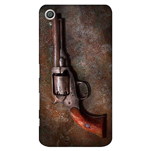 Mobo Monkey Designer Printed Back Case Cover for Sony Xperia X :: Sony Xperia X Dual F5122 (Gun :: Arms :: Antique :: Armoury :: Vintage)  available at amazon for Rs.399