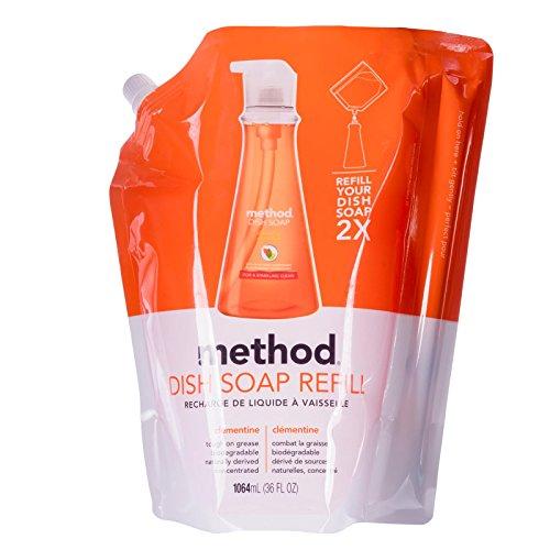 method-clementine-washing-up-liquid-refill-1064-ml-pack-of-2
