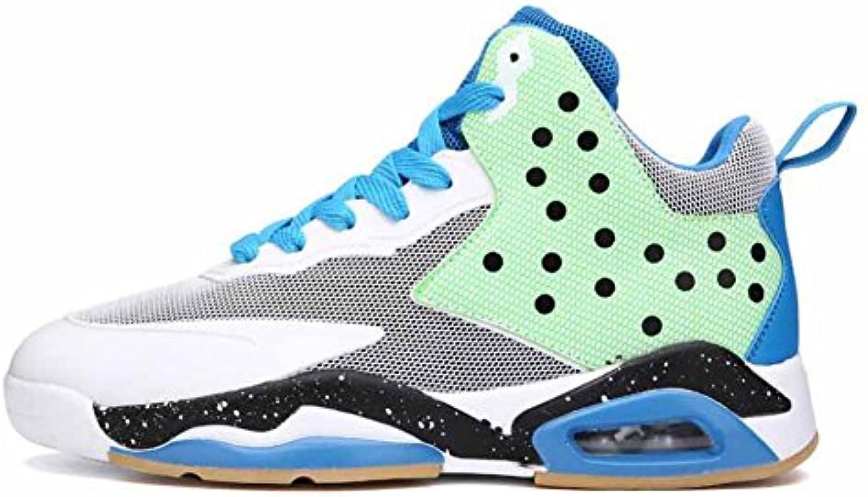 Hombres High Rise baloncesto zapatos 2017 nuevos transpirable deportes al aire libre entrenadores antideslizantes  -