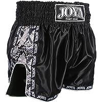 Men's Kick Joya 57004-Pantaloncini da boxe, colore: nero, con serpente,