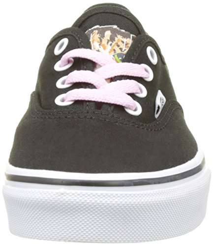 Vans  Uy Authentic, Sneakers Basses fille Noir (Hidden Kittens Black/true White)
