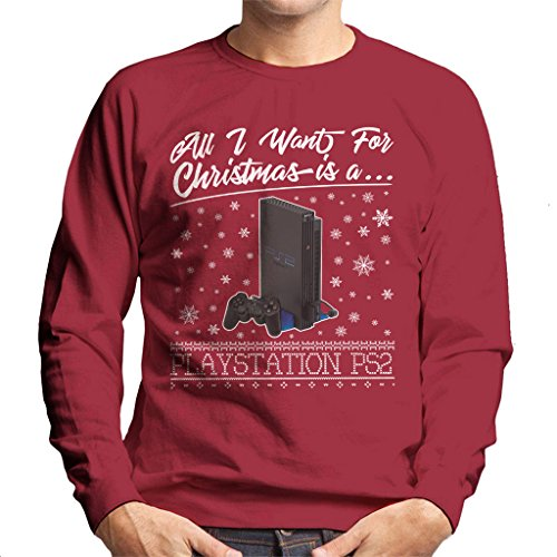 All I Want For Christmas Is A Playstation 2 Men's Sweatshirt