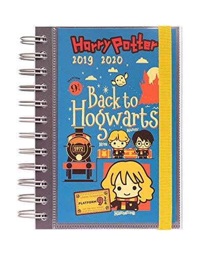 Erik® - Diario Scuola con Planner Giornaliero 2019/2020, 10 mesi - Harry Potter