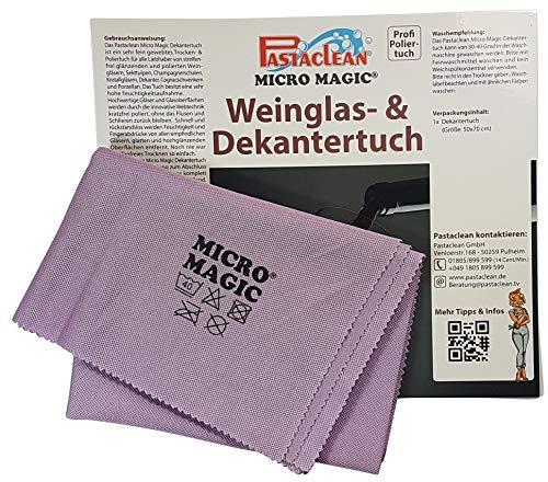 Pastaclean Micro Magic Weinglas- & Dekantertuch