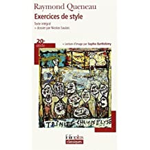 Exercices De Style (Folio Plus Classique) by Raymond Queneau (2007-10-22)