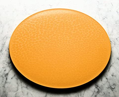 DISHWASHER SAFE PLACEMAT/COASTER SET 2+2. Citrus yellow colour. Intech-Gecko.10% off when you spend