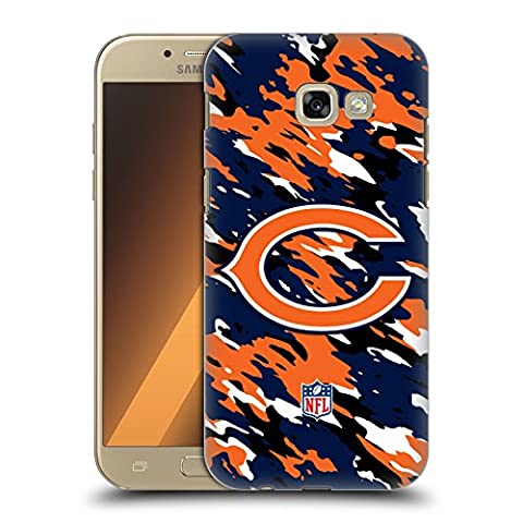 Official NFL Camou Chicago Bears Logo Hard Back Case for Samsung Galaxy A5 (2017)