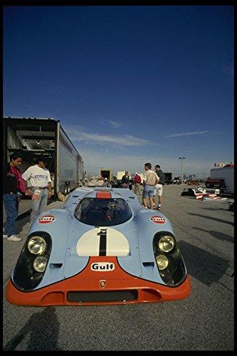 582045 917 Gulf Porsche A4 Photo Poster Print 10x8