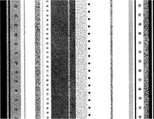 Unbekannt Studio 490 Wendy Vecchi Background Cling Stamp-Random Stripes - Random Stripe