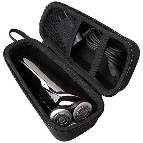 Aproca Duro Viajes Funda Bolso Caso para Philips Series 5000 S5400/06 S5530/06 S5420/06 S5320/06 S5130/06 Afeitadora eléctrica/SweetLF Afeitadora (Black) (Black) (Black)