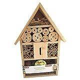 Casa/hotel/refugio de insectos y abejas para jardín, césped...
