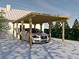 Carport (Flachdach) SILVERSTONE XX 300 x 600 cm, Bausatz