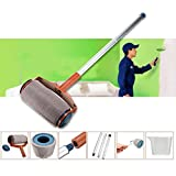 #6: Magnusdeal® Paint Roller Brush Runner Wall Painting Tool Kit- 6 PCS/Set-Painting Accessories Home Use Tools Pintar Facil Handle - No Prep, No Mess. Simply Pour and Paint to Transform Any Room In Just Minutes
