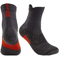 Huyizhi Männer Socken 3 Paar Männer Fußball Basketball Outdoor Sport Hohe Socken Elastische Atmungsaktive Socken preisvergleich bei billige-tabletten.eu
