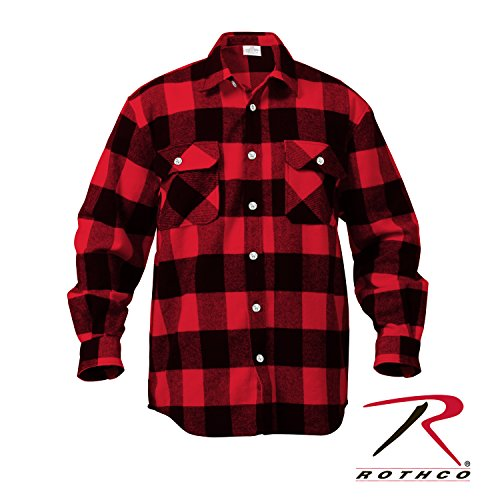 rothco-extra-heavy-weight-brawny-flannel-shirt-2x-large-red
