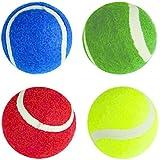 Gamez Galore COLOURED TENNIS BALLS - PACK OF 12