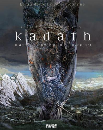 Kadath : Le guide de la cité inconnue par David Camus