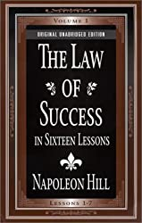 The Law of Success In Sixteen Lessons (2 Volume Set) by Napoleon Hill (2000-12-01)