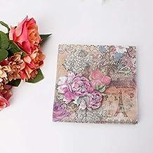 Servilletas de papel de lunares multicolores para decoración de bodas, fiestas, 20 piezas/