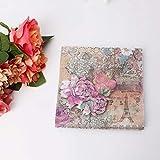 Servilletas de papel de lunares multicolores para decoración de bodas, fiestas, 20 piezas/lote