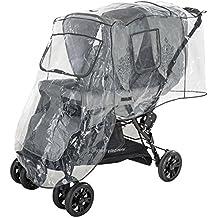 DIAGO 30009.75266 - Protección para la lluvia para silla gemelar