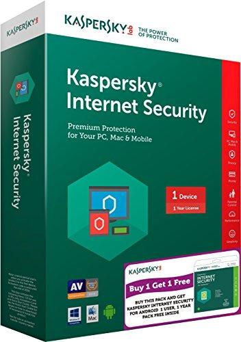 Kaspersky Internet Security Latest Version – 1 PC