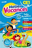 Cahier de vacances 2017 du CE1 vers le CE2