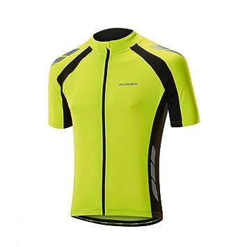 Altura Nightvision 2 Commuter Long Sleeve Jersey Hi-Vis Yellow//Black Size L UK